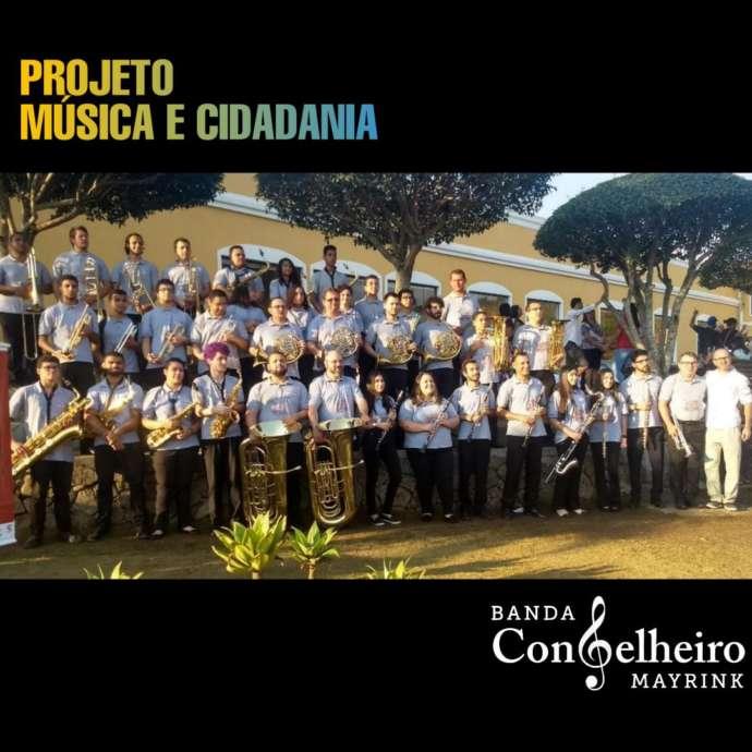 Banda Musical Conselheiro Mayrink abre novas inscrições para 2020
