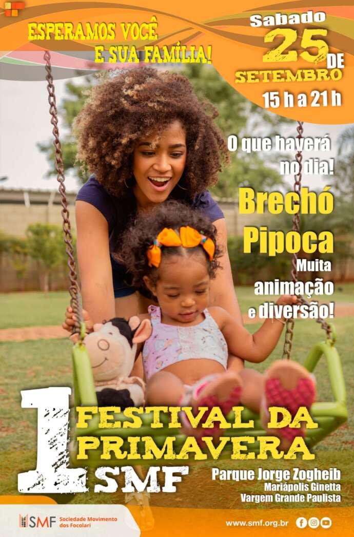 1º Festival da Primavera SMF em Vargem Grande Paulista será realizado neste sábado
