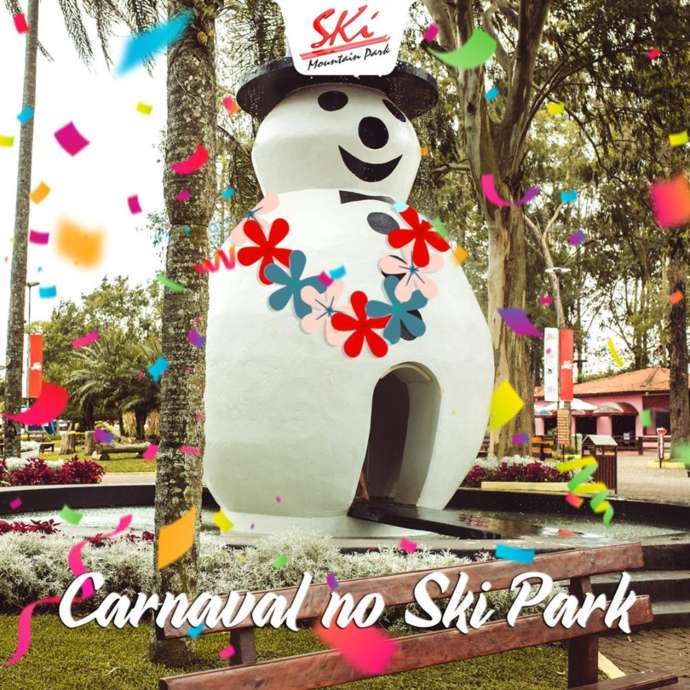 Folia de Carnaval 2020 no Ski Mountain Park