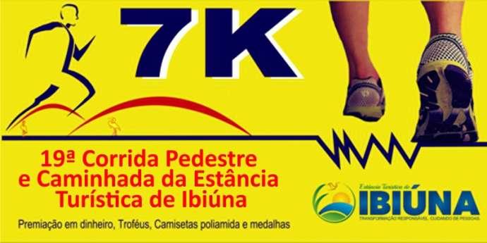 Faça a sua inscrição para a 19ª Corrida Pedestre de Ibiúna