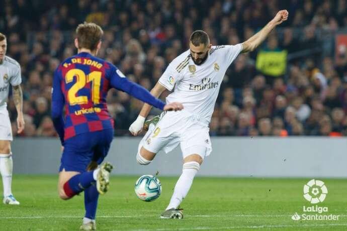 Maior clássico mundial da atualidade foi disputado no campo de treinamento do Real Madrid e terminou com vitória do time da casa