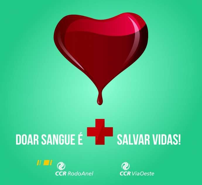 ViaOeste e Fundação Pró-Sangue recebem doadores de sangue na Rodovia Castello Branco, no dia 27