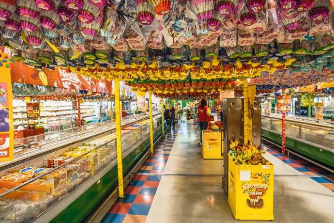 Supermercados projetam aumento de 5% nas vendas no período de Páscoa