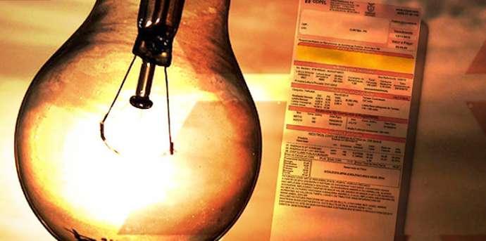 Conta de luz é reduzida em 3,7%, em média, após governo quitar débito