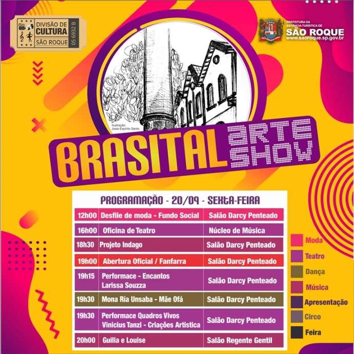 """""""Brasital Arte Show"""" começa nesta sexta-feira"""