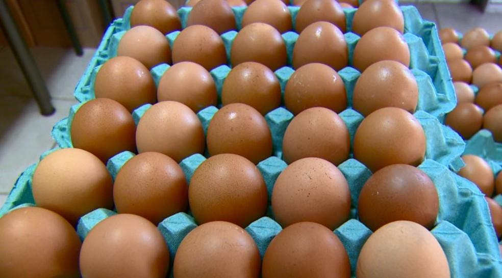 Mulher cai em golpe e perde R$ 800 após comprar ovos