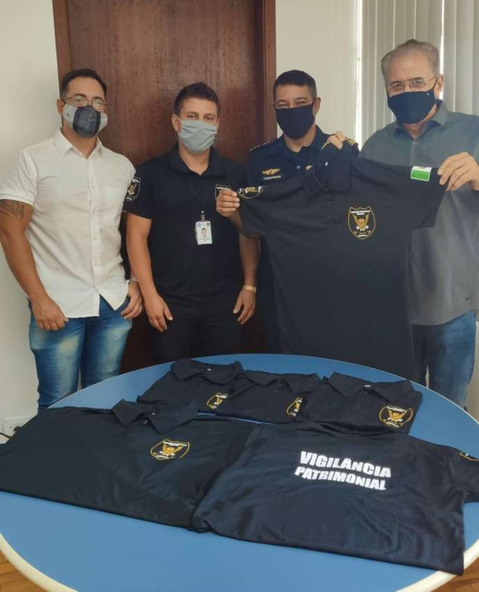 GCM de Mairinque ganha novos uniformes