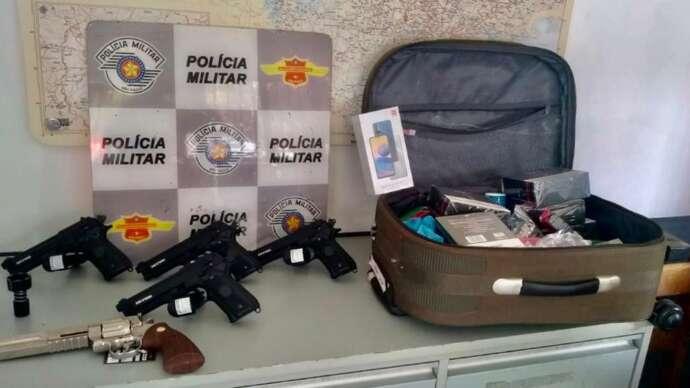 Réplicas de armas são apreendidas na Castello Branco