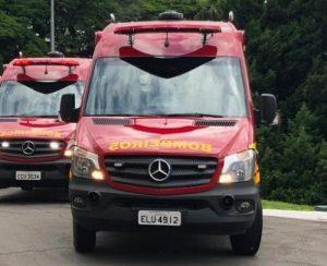 São Roque começa renovar viaturas do Corpo de Bombeiros