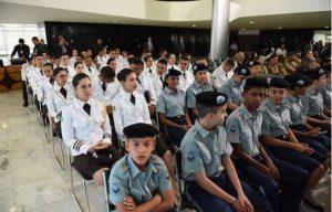 Escolas têm até 27 de setembro para mostrarem interesse na gestão cívico-militar