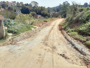 Começa a pavimentação de duas ruas em São João Novo