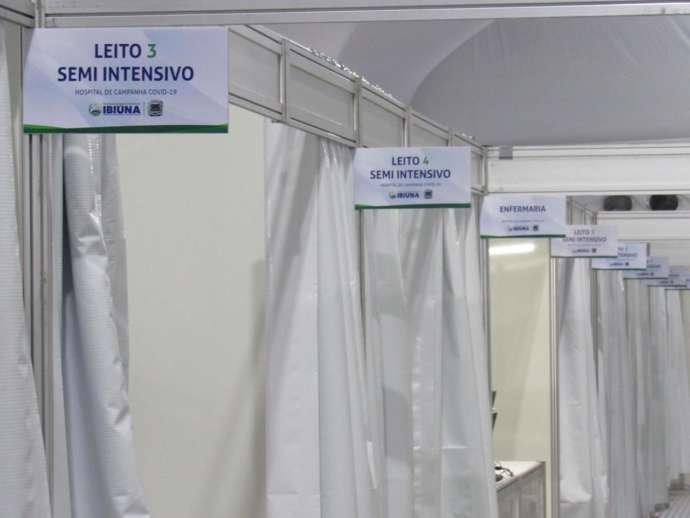 Secretaria de Saúde de Ibiúna esclarece informações veiculadas sobre leitos do Hospital de Campanha