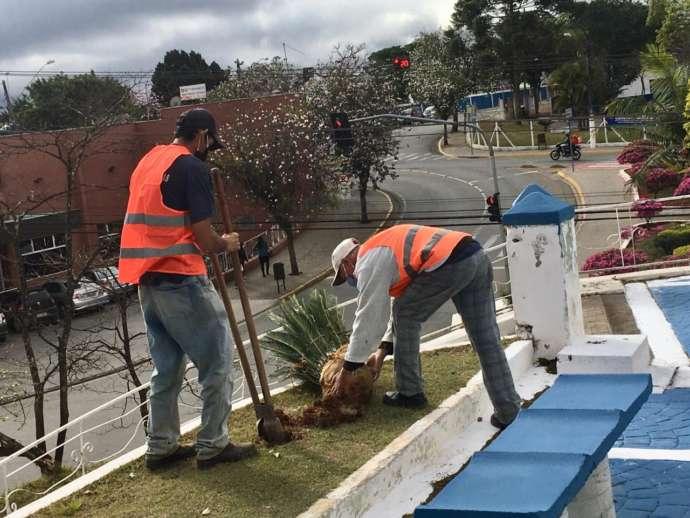 Prefeitura de Ibiúna realiza obras no Centro e na zona rural