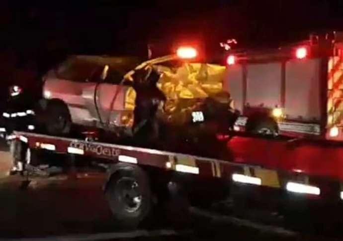 Idosa morre em acidente na Rodovia Raposo Tavares