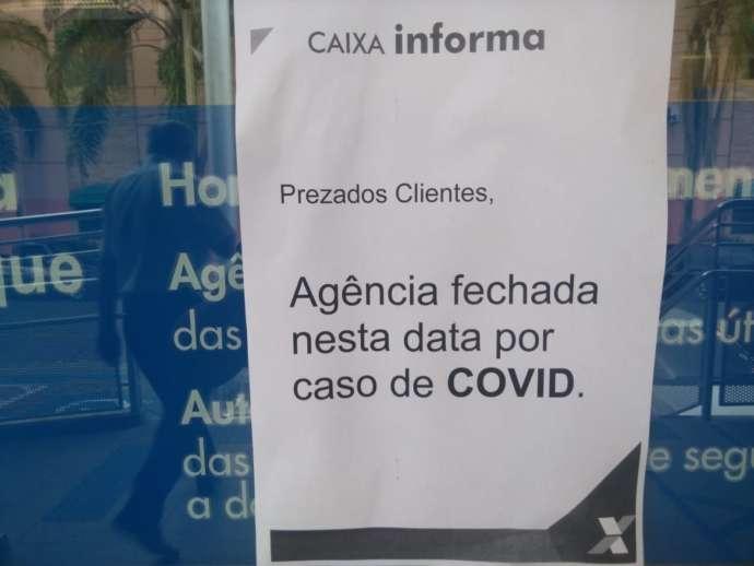 Caixa Econômica de São Roque suspende atividades após suspeita de Covid em alguns funcionários