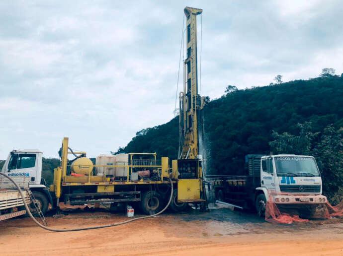 Saneaqua conclui primeira etapa da perfuração de poço de captação de água no bairro Moreiras
