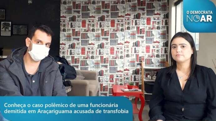 """Demissão e """"Nota de Repúdio"""", entrevistamos servidora de Araçariguma afastada após postagem no Facebook"""